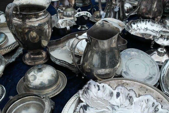 Посуда из серебра