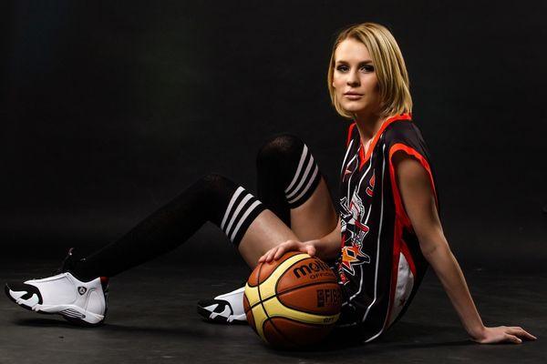 Баскетболистка
