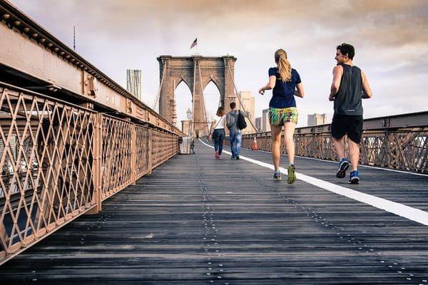 Пробежка по мосту