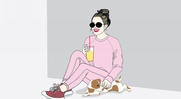 Леди с напитком
