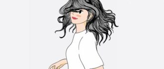 Растрепанные волосы